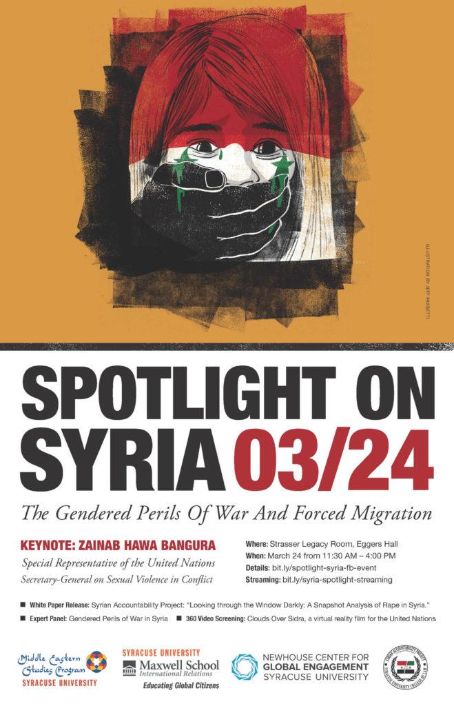 Poster - Spotlight on Syria